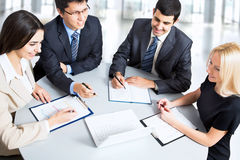 Business team working Royalty Free Stock Photos