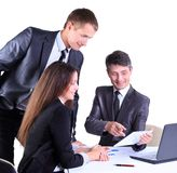 Business team working Stock Photography