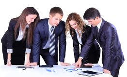 Business team working Stock Photos