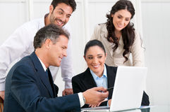 Business team working together Royalty Free Stock Photo