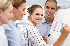 Business team working together Royalty Free Stock Photos