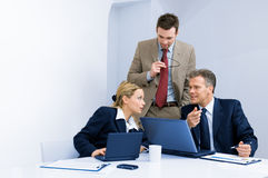 Business team working together in office Stock Images