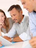 Business team working together on project Royalty Free Stock Image