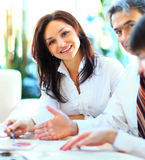 Business team working. Together to achieve better results Stock Photography