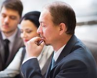 Business team working together. To achieve better results Royalty Free Stock Images