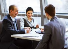 Business team working together Stock Images