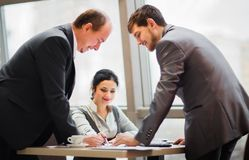 Business team working together. To achieve better results Royalty Free Stock Image