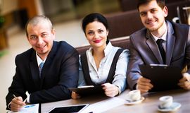 Business team working Stock Images