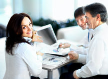 Business team working together. To achieve better results Stock Image