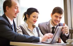 Business team working together. To achieve better results Royalty Free Stock Photos