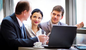 Business team working together. To achieve better results Stock Photo