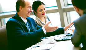 Business team working together Stock Photo