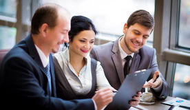 Business team working together Royalty Free Stock Images