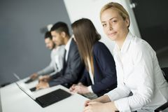 Business team working together to achieve better results Stock Images