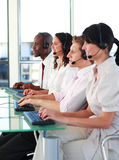 Business team working well together Stock Photography