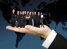 Business team worldwide Stock Photos
