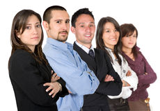 Business team - young entrepreneurs Royalty Free Stock Photography