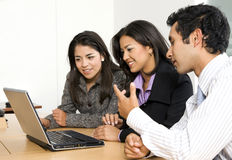 Business team of young entrepreneurs Stock Image