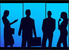 Business Teams. Business, vectror work, jpg + eps 8 Royalty Free Stock Photography
