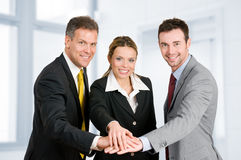 Business teamwork Royalty Free Stock Photo