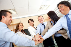 Business teamwork Royalty Free Stock Photos