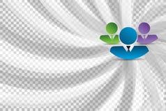 Business teamwork avatars Stock Image