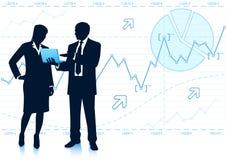 Business teamwork Stock Image