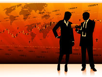 Business teamwork Royalty Free Stock Images