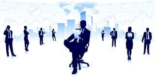 Business teamwork Royalty Free Stock Image
