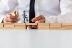 Business teamwork and collaboration concept stock photo