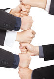 Business with teamwork concept Stock Image