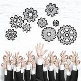 Business and teamwork concept Royalty Free Stock Image