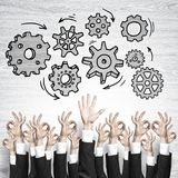 Business and teamwork concept Royalty Free Stock Images