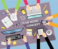 Business teamwork concept Royalty Free Stock Photography
