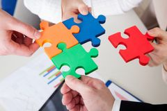 Business Teamwork Stock Image