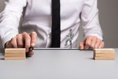 Business teamwork and determination concept royalty free stock images