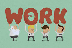 Business teamwork eps10  format Royalty Free Stock Photography