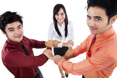 Business teamwork hold hands Royalty Free Stock Images