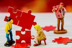 Business Teamwork Idea Stock Photography