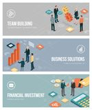 Business, teamwork and investments Stock Photo