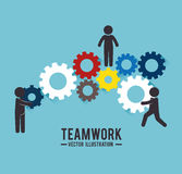 Business teamwork and leadership Stock Photography