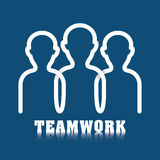 Business teamwork and leadership Stock Images