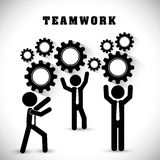 Business teamwork and leadership Royalty Free Stock Photography