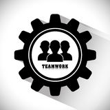 Business teamwork and leadership Royalty Free Stock Photos