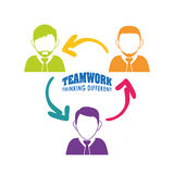 Business teamwork and leadership Stock Photo