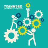 Business teamwork and leadership Royalty Free Stock Images