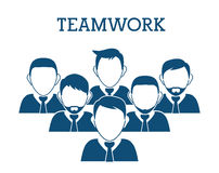 Business teamwork and leadership Royalty Free Stock Photo