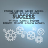 Business teamwork and success Stock Image