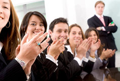Business teamwork for success Royalty Free Stock Image