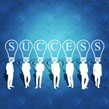 Business teamwork and success Stock Images